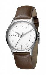 Damski zegarek Esprit ES Essential srebrny Brown - L ES1L034L0025
