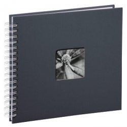 Album tradycyjny szary fine art 28x24 50 białych stron