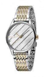 Damski zegarek Esprit ES E.ASY T/T Gold srebrny MB. ES1L029M0075