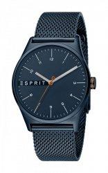 Męski zegarek Esprit ES Essential Blue Mesh  - G ES1G034M0095