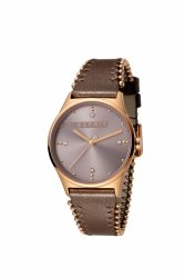 Damski zegarek Esprit ES Drops 01 Pink D.Brown ES1L032L0045