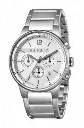 Męski zegarek Esprit ES Equalizer srebrny MB. ES1G025M0055