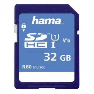 Karta pamięci SDHC HS Gold 32GB - Hama