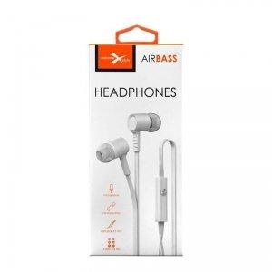 Słuchawki dokon. z mikr. eXtreme AirBass białe