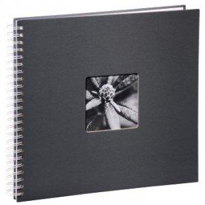 Album 34x32/50 Fine Art szary białe strony - Hama