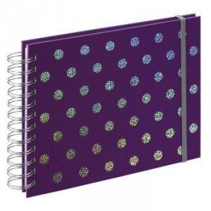Album 24x17/50 Twinkle spiralny purpurowy - Hama