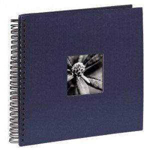 Album 34x32/50 Fine Art niebieski czarne strony - Hama