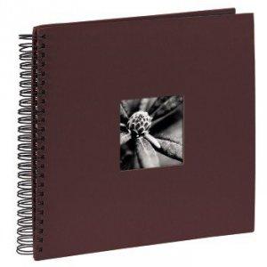 Album 34x32/50 Fine Art bordowy czarne strony - Hama