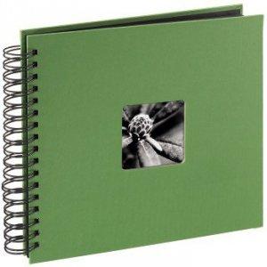 Album 28x24/50 Fine Art Green czarne strony - Hama