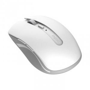 Mysz optyczna bezprzewodowa Bluetooth 7200M biała - Rapoo