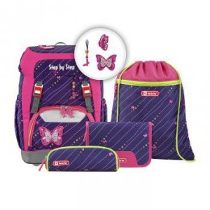 Zestaw szkolny Grade Shiny Butterfly - Step by Step