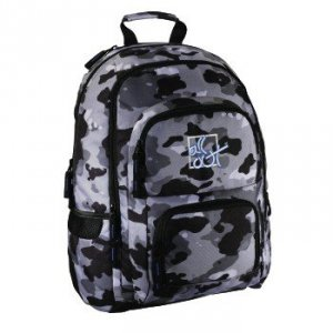 Plecak szkolny Louth Camouflage - All Out Hama