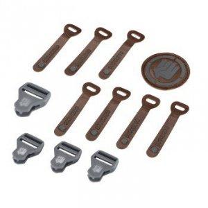 Zestaw Elementów Wymiennych Leather Grey Melange - Coocazoo
