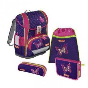 Zestaw szkolny Light 2 Shiny Butterfly - Step by Step