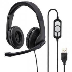 Słuchawki komputerowe HS-USB300 - Hama