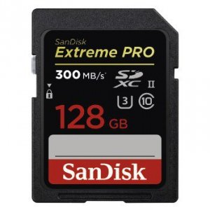 Karta pamięci SDXC Extreme PRO 128GB 300MB/s - SanDisk