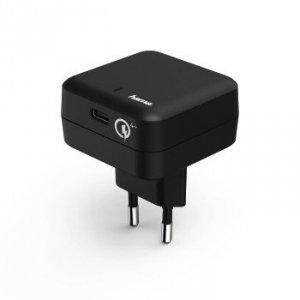 Ładowarka sieciowa qualcomm® quick charge™ 4+ / power delivery (pd), czarn