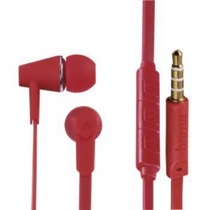 Słuchawki douszne Joy czerwone - Hama