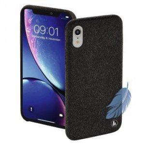 Etui do iPhone XR Cozy czarne - Hama