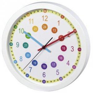 Zegar dziecięcy Easy Learning średnica 30 cm - Hama