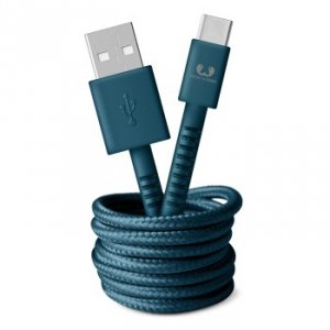 Kabel USB-C 1.5m Petrol Blue - Fresh'n Rebel