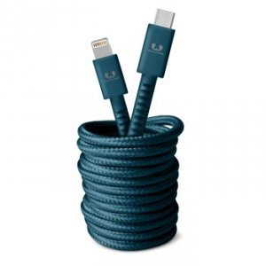 Kabel USB-C Lightning 3.0m Petrol Blue - Fresh'n Rebel