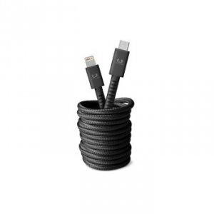 Kabel USB-C Lightning 3.0m Storm Grey - Fresh'n Rebel