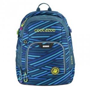 Plecak szkolny Rayday Zebra Stripe Blue - Coocazoo