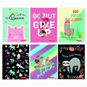 Zeszyt A5 16 kartek w linie Humorous for Girls - Herlitz