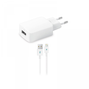 TTEC SpeedCharger Ładowarka sieciowa USB 2.1A kabel lightning