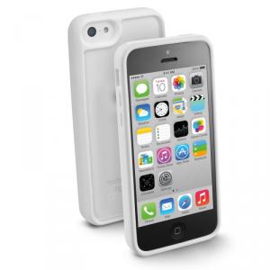 CELLULAR LINE Bumper Etui iPhone 5C białe