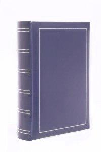 Album 10x15 na 300 zdjęć niebieski srebrne paski - Poldom