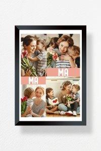 Zdjęcie w ramce A4 Dla najlepszej mamy - Studioix.pl