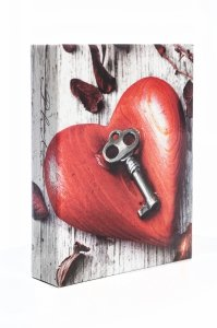 Album 10x15 na 200 zdjęć Serce z kluczem - Poldom