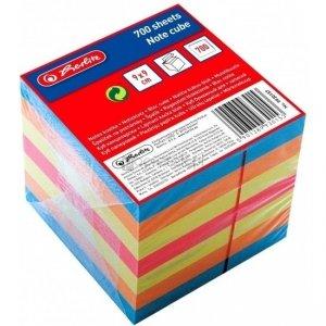 Notes kostka 700 kartek w 6 kolorach - Herlitz