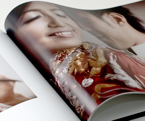 idealny druk foto książki