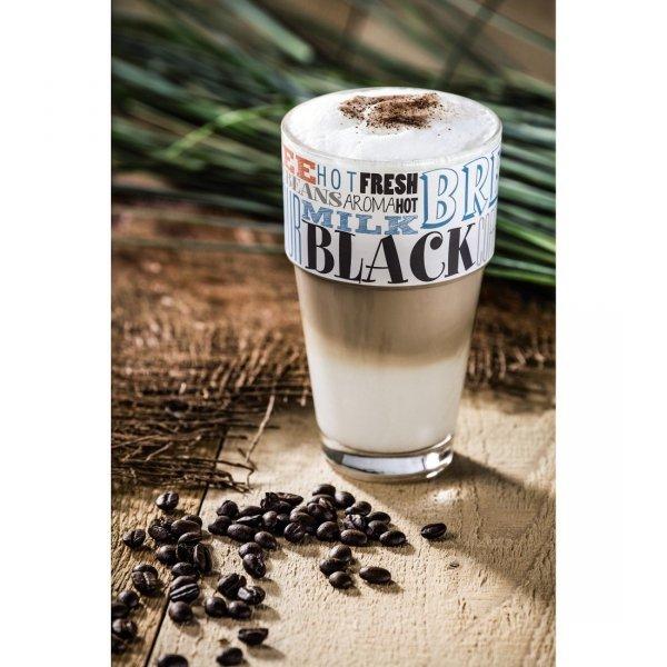 """""""flavoured taste"""" szklanka latte macchiato"""
