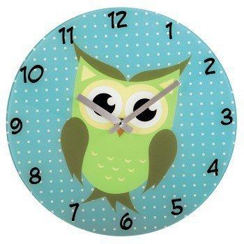 Dziecięcy zegar ścienny sowa