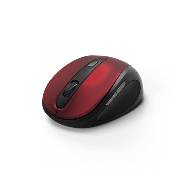 6-button mouse, mw-400, red