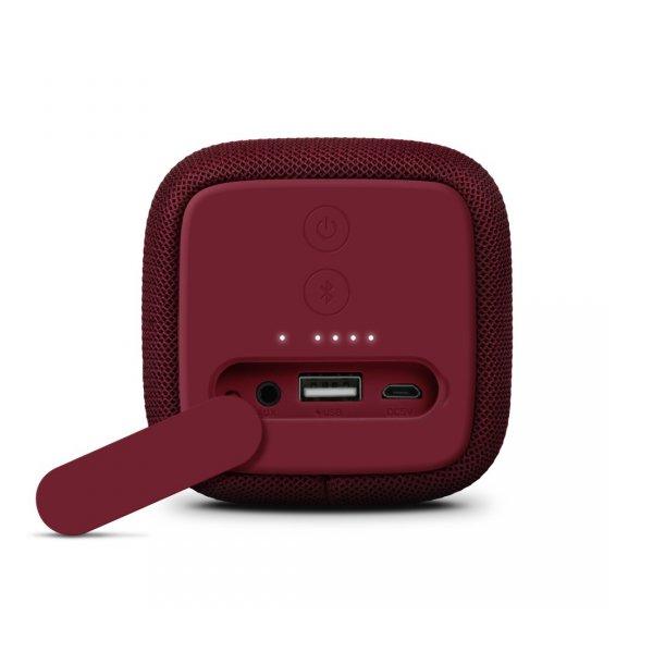 Głośnik Bluetooth Rockbox Bold M bordowy - Fresh'n Rebel