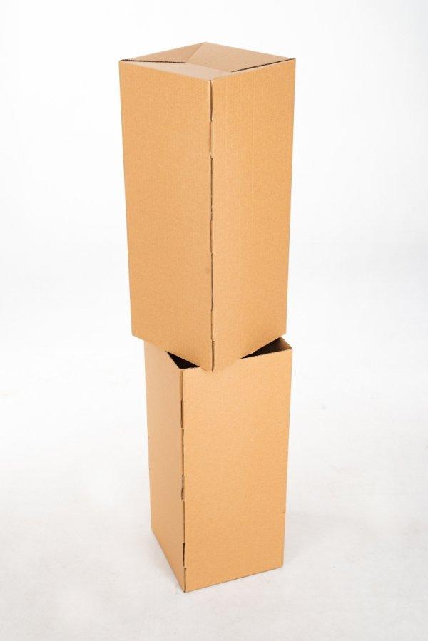 Karton teleskopowy podstawa 10 cm - wymiar regulowany