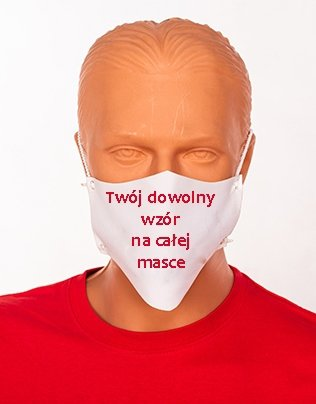 Maseczka na twarz z twoim nadrukiem - streetwear