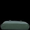 Vittoria Gotti Klasické Kožené Kabelky Dámská Aktovka A4 Lahvově Zelená