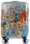 Módní Palubní kufřík pro děti Snowball Multicolor - Stříbrná