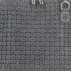 Mała Włoska Torebka Skórzana Listonoszka firmy Genuine Leather Szara