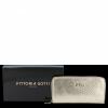 Luksusowe Skórzane Portfele Damskie firmy Vittoria Gotti Made in Italy Złoty