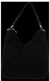 Uniwersalna Torebka Skórzana do noszenia na co dzień Czarna