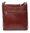 Listonoszka skórzana Genuine Leather Brązowa