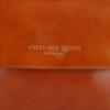 Klasyczna Listonoszka Skórzana firmy Vittoria Gotti Made in Italy Ruda