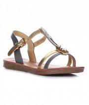 dámské sandály šedé